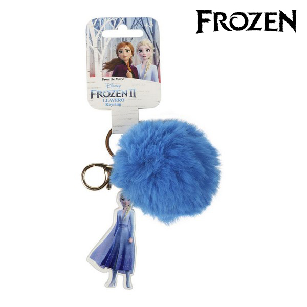 Cuddly Toy Keyring Elsa Frozen 74017 Blue