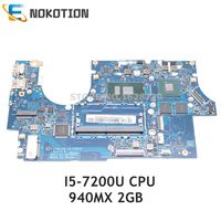 NOKOTION for Lenovo 720s 14ikb Laptop Motherboard CIZVO S0 LA E581P 5B20N79851 5B20N87826 SR342 I5 7200U CPU 940MX 2GB