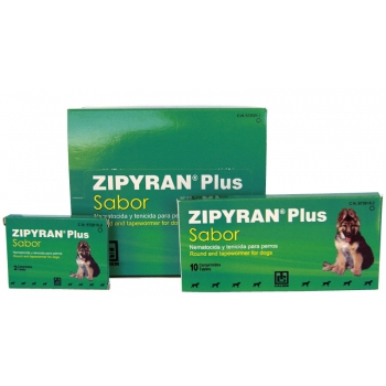 Zipyran Plus Taste Suppression Internal Calier Pack 10 Tablets