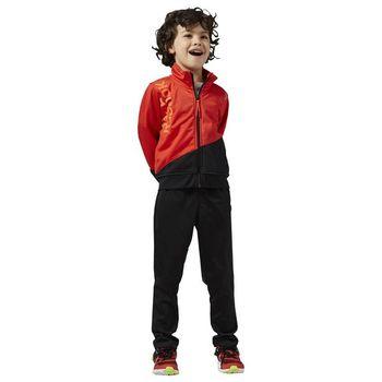 Children's Tracksuit Reebok B ES Tric TS Red Black
