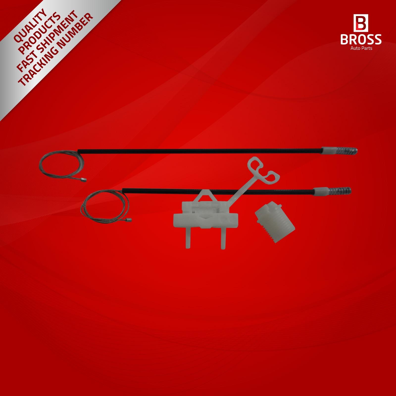 BWR5182 Manuelle Fensterheber 51723323 Reparatur Set Hinten Rechts für Punto 199