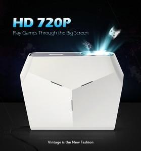 Image 3 - AUN ET10 MINI Projector, 1280x720P HD, Video Beamer. 3800 Lumens Brightness. 3D Cinema. Support 1080P(Optional Android Version)