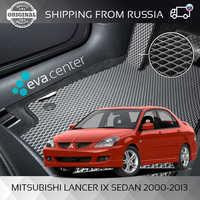 Car Mats EVA for Mitsubishi Lancer sedan 9 IX 2000-2013 set of 4x mats and jumper/Eva mats on auto