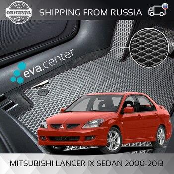 цена на Car Mats EVA for Mitsubishi Lancer sedan 9 IX 2000-2013 set of 4x mats and jumper/Eva mats on auto