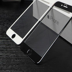 Ochronna 10D szkło dla iPhone 6S czarny jednorożec  pełna pokrywa  ochraniacz ekranu  szkło hartowane dla iPhone 6S.