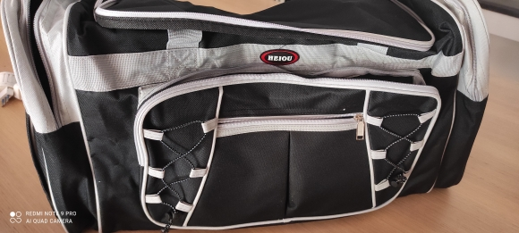 Waterproof Nylon Gym Bag photo review