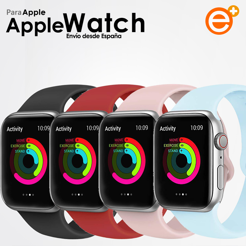 Apple Strap Watch For IWatch Series 1 2 3 4 5-38 40 42 44 Mm Refill Correa In Silicone Soft
