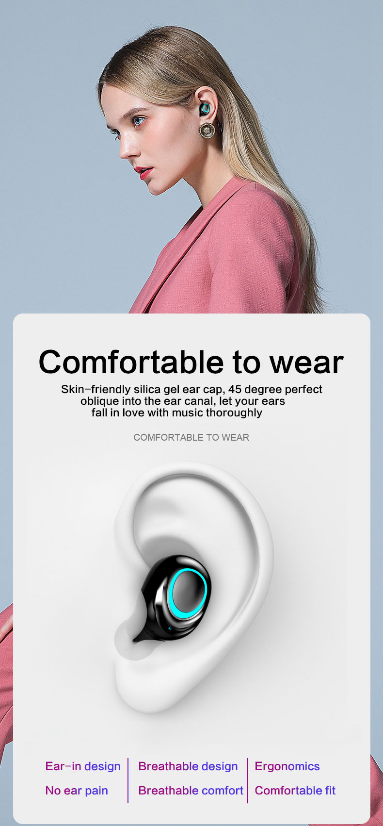 TWS Wireless Earbuds with Power Bank 93