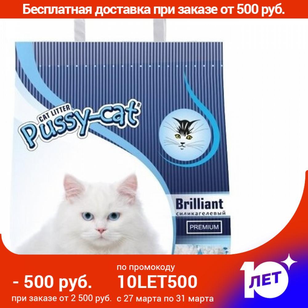 Pussy-cat Silica Gel Filler, 5 Liters.
