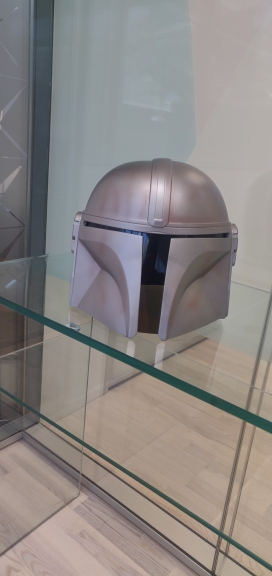 Le casque mandalorien Star Wars