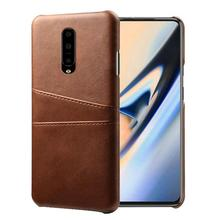 Luxury Leather Phone Case For One Plus 7 Oneplus Pro Slim PU Wallet Card Holder Back Cover Coque Fundas