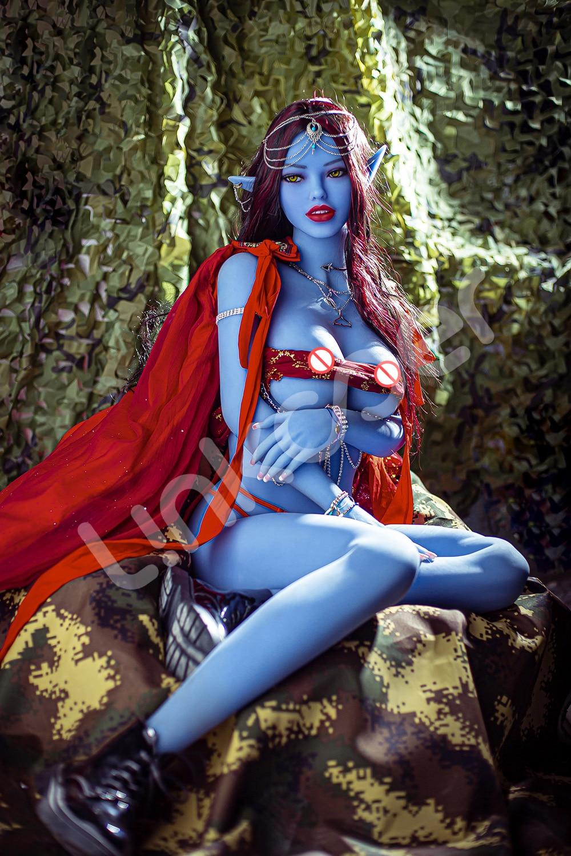 Ua6bb1472017949b78b5644b7f95b443bh Linkooer-Muñeca sexual de silicona para hombres adultos, juguete de belleza de elfo azul de 158cm, con ano realista, Vaginal y Oral