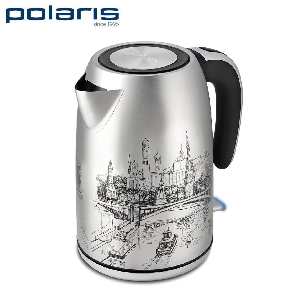 лучшая цена Kettle Polaris PWK 1856CA Moscow Kettle Electric Electric kettles home kitchen appliances kettle make tea Thermo