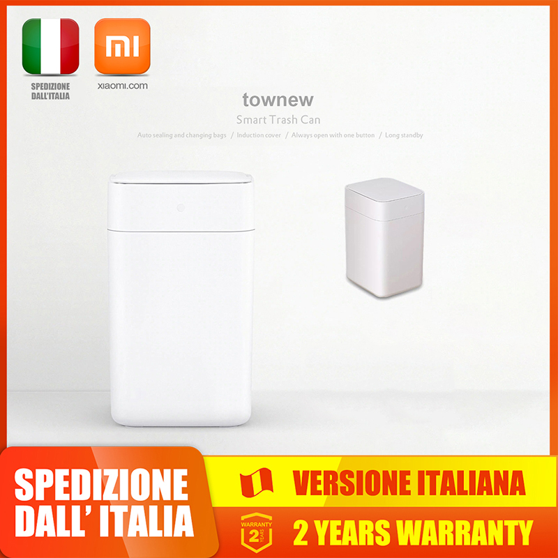 Xiaomi Mijia Townew T1 Smart Trash Can Motion Sensor Auto Sealing LED Induction Cover Trash 15.5L Smart Home