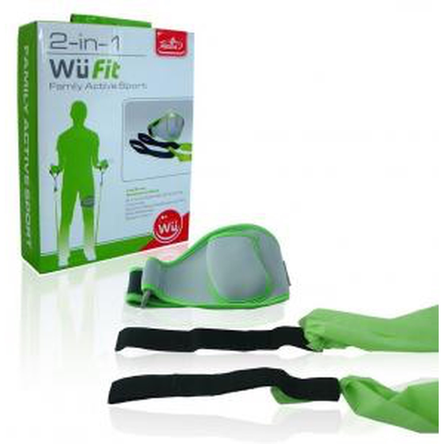 Wii 2in1 EV active sports pack (leg strap + resistance band) ultimate band wii