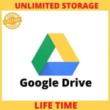 Gooogle drive armazenamento ilimitado com seu gmail pessoal, tempo de vida conta em todo o mundo e entrega rápida