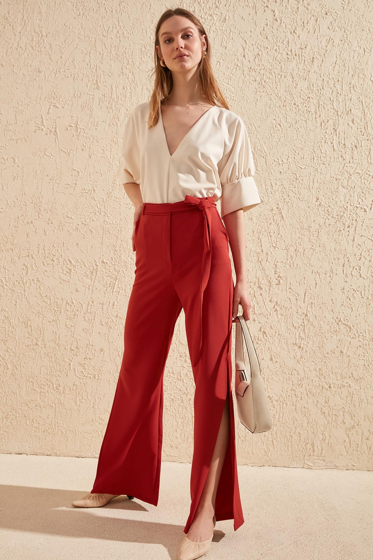 Trendyol Gusset Pants TWOSS20PL0030