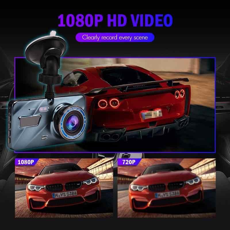 DVR Xe Ô Tô Dash Cam Đầu Ghi Hình Dash Camera Ghi Tự Động Registrator Màn Hình LCD 4 Inch Màn Hình HD 1080P Lái Xe Đầu Ghi Hình/Dash Camera