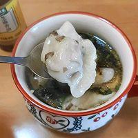 #太太乐鲜鸡汁芝麻香油#快手酸汤水饺的做法图解5