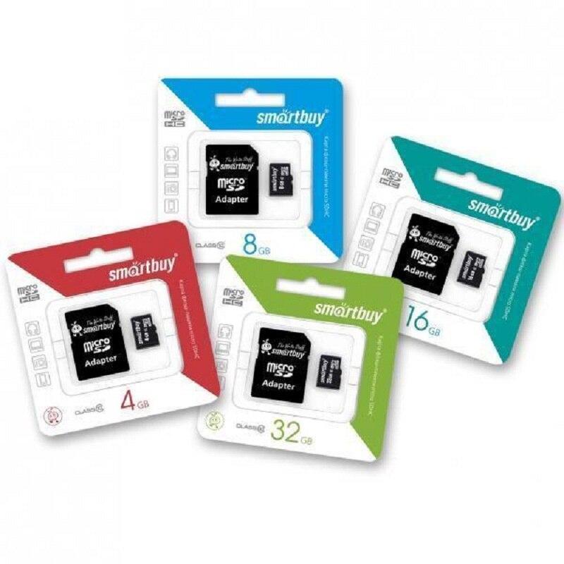 Карты памяти 32 ГБ 16 ГБ 8 ГБ 128 Гб 64 Гб Microsd карта C и