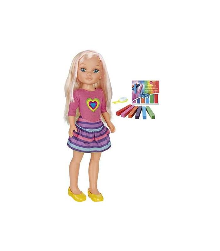 Muñeca Nancy Haciendo Mechas Juguetería Articulos Creados Manual - 2
