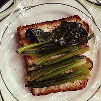 健身食谱又来了~菠菜牛肉三明治的做法图解7