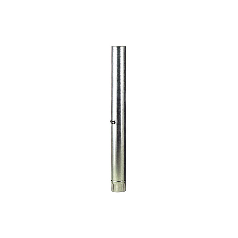 Tube Stove Galvanized 100mm. With Key