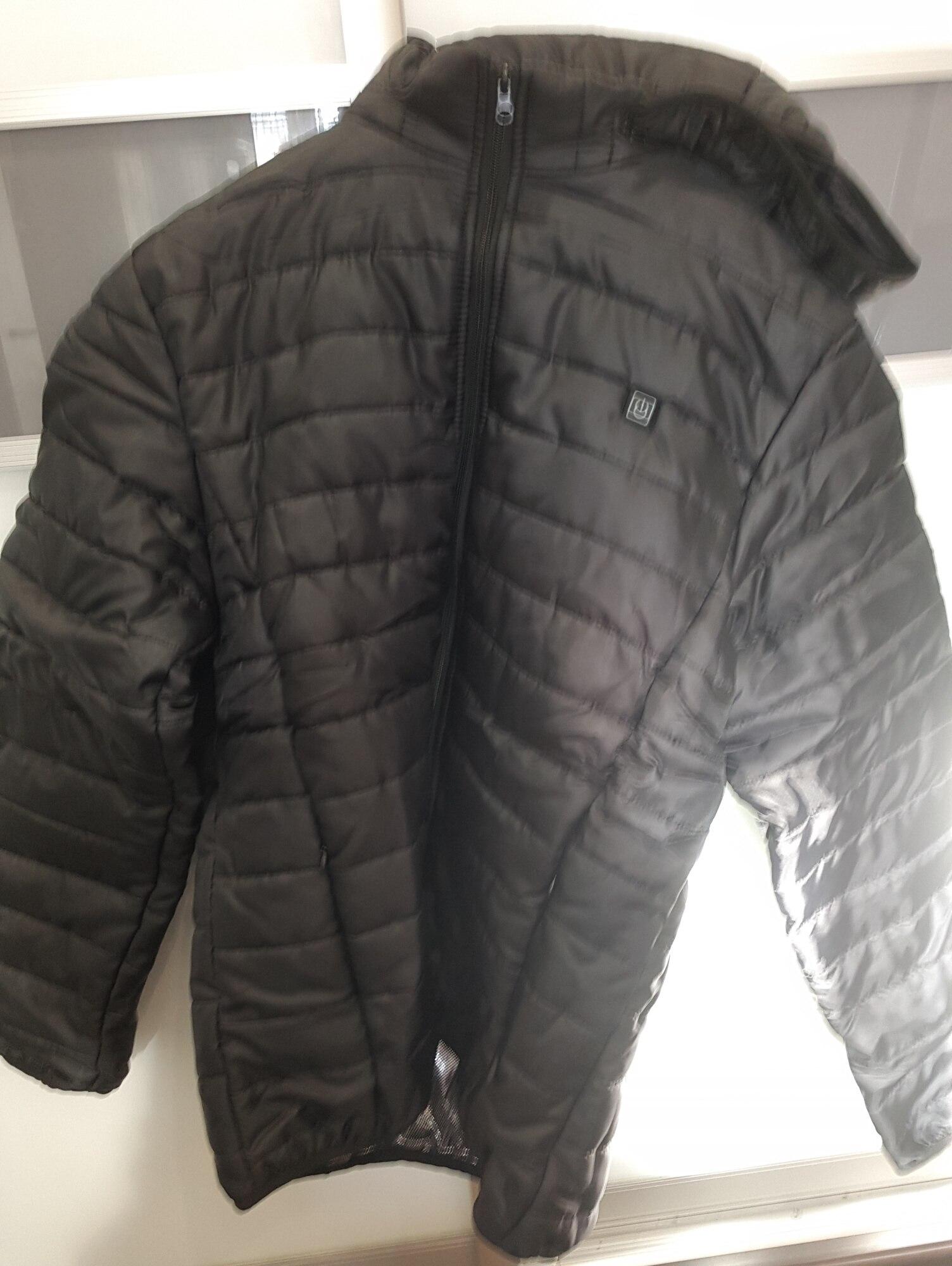 Veste de Chauffage Intelligente pour Couples Couples USB Chauffage Collier Jacket pour Maintenir des v/êtements de Coton de Chauffage /à temp/érature constante