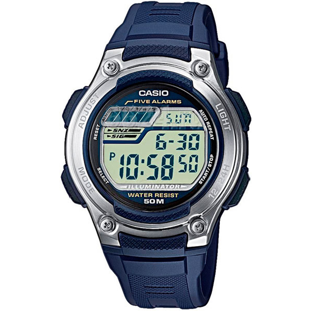 Casio Horloges W 212H 2A Mannen Digitale-in Digitale Klokken van Horloges op title=