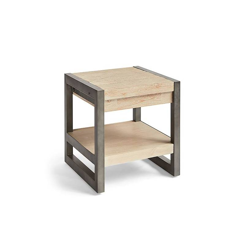 Side Table Acacia Wood (50x50x40 Cm)
