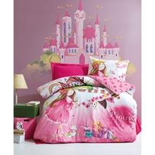 Bedspread Duvet-Cover-Set Sheet Pillowcase Turkey Room-Gift Cotton-Box Girl's Kids Princess