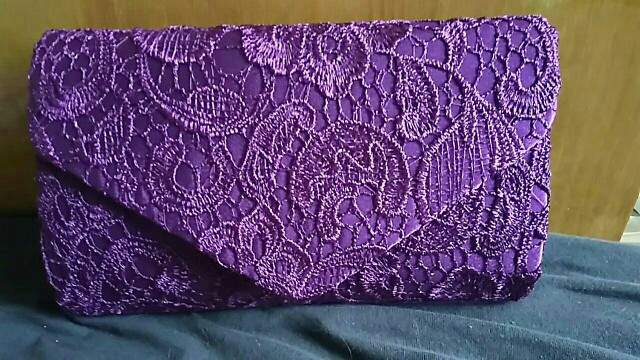 2021 Bridal Wedding Satin Evening Bags Lace Floral Day Pouch Lady Messenger Shoulder Bag Women Handbags Lace Clutch Party Bag photo review