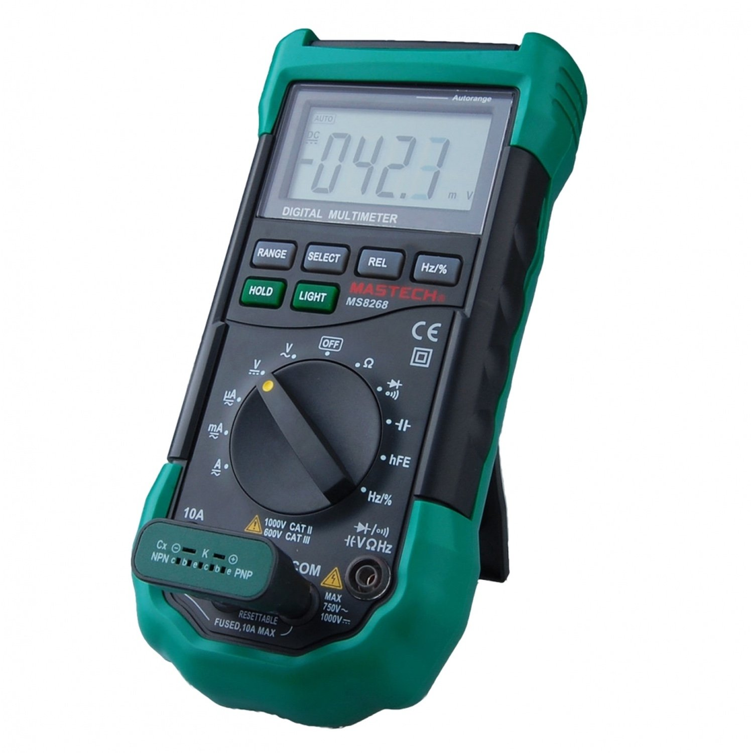 Mastech MS8268-Digital Multimeter 3 3/4 Digital Autoranging AC/DC/phew/Hz multimeter tester
