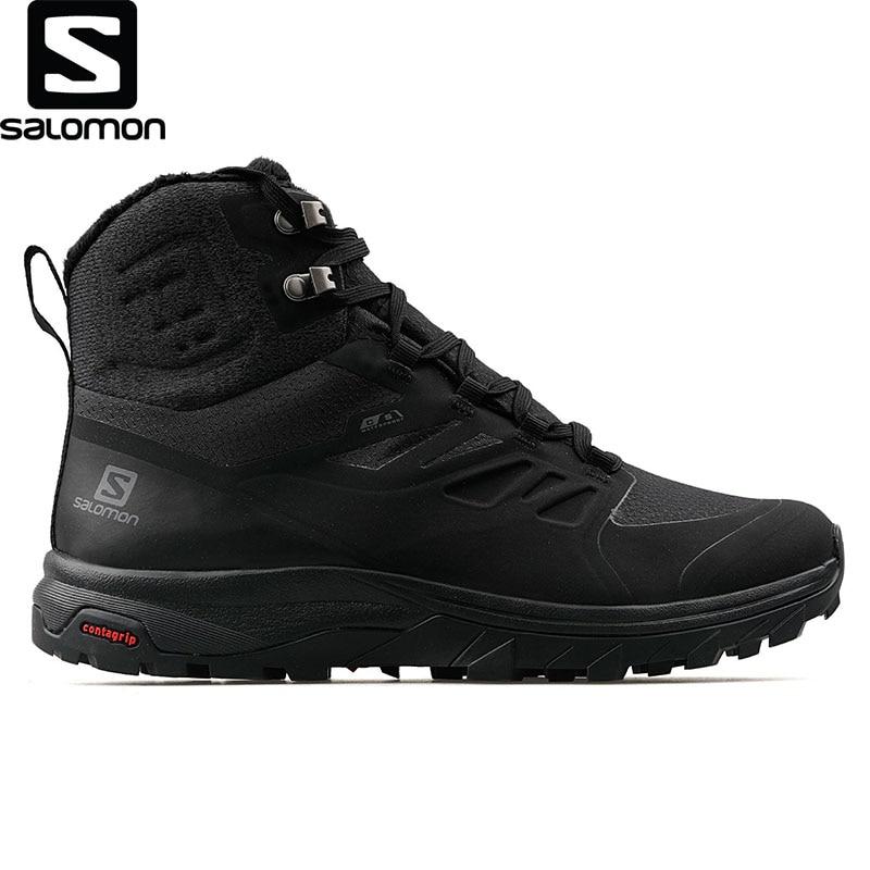 Salomon-zapatos Exteriores Outblast Ts Cswp Para Hombre, Producto Original De Alta Calidad, A La Moda, Para Nieve Y Invierno