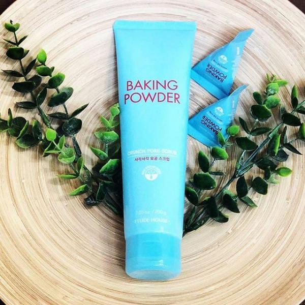Face Scrub With содой Baking Powder Crunch Pore Scrub, 200g Etude House