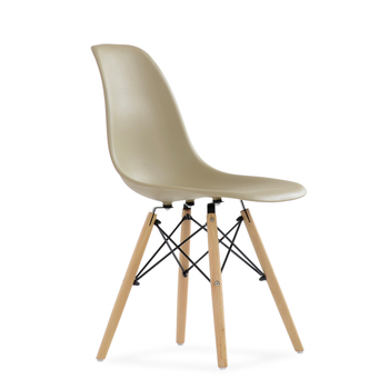 95749 Barneo N-12 Plastic Wood Kitchen Breakfast Interior Stool Bar Chair Kitchen Furniture cappuccino free shipping in Russia