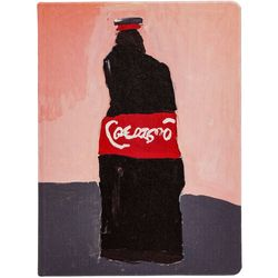 Cahier Cola, la ligne, noir