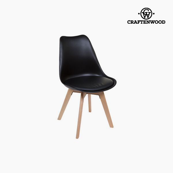 Chair Black (49 X 54 X 83 Cm) By Craftenwood