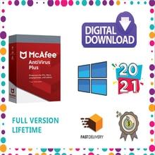 McAfee Антивирус плюс 2021 на 1 год, 1 пользователь ПК Win-dows
