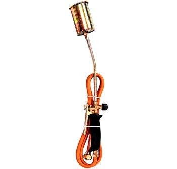 Butsir SBCB5011 - Kit de Soplete profesional de 111l, Soldador quemador de mallas Hierbas, incluye manguilla ajustable, 24-48 h