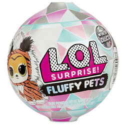 Toy LOL Pet Winter disco fluffy in the ass