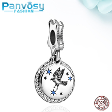 New Jewelry Making Eagle Animal Sterling Silver 925 Bead Fit Pandora Charms Silver 925 Original Bracelet 2020 Charm Pendants DIY цена 2017