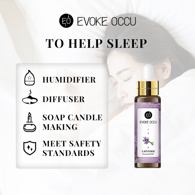 Sweet Orange Essential Oils 10ML with Dropper Diffuser Aroma Oil Lavender Eucalyptus Vanilla Peppermint Frankincense Oil 3