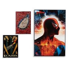 Painting Spiderman-Ironman (3 x 91,5 x 61,5 cm)