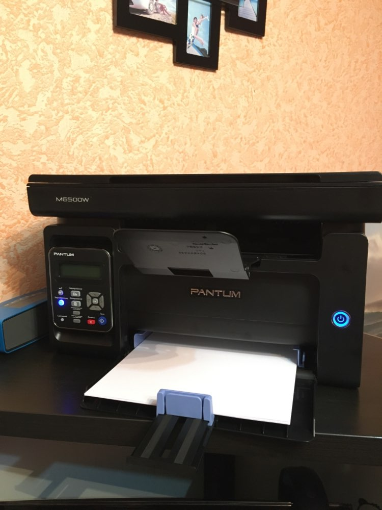 МФУ Pantum M6500W (лазерное, монохромное, копир/принтер/сканер (цвет 24 бит), 22 стр/мин, 1200 × 1200 dpi, 128Мб RAM, черный)