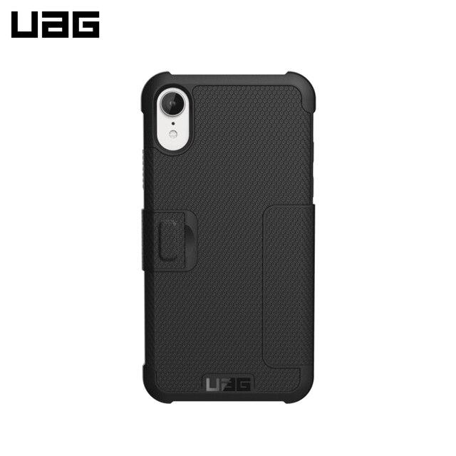 Защитный чехол UAG для iPhone XR серия Metropolis цвет черный/111096114040/32/4