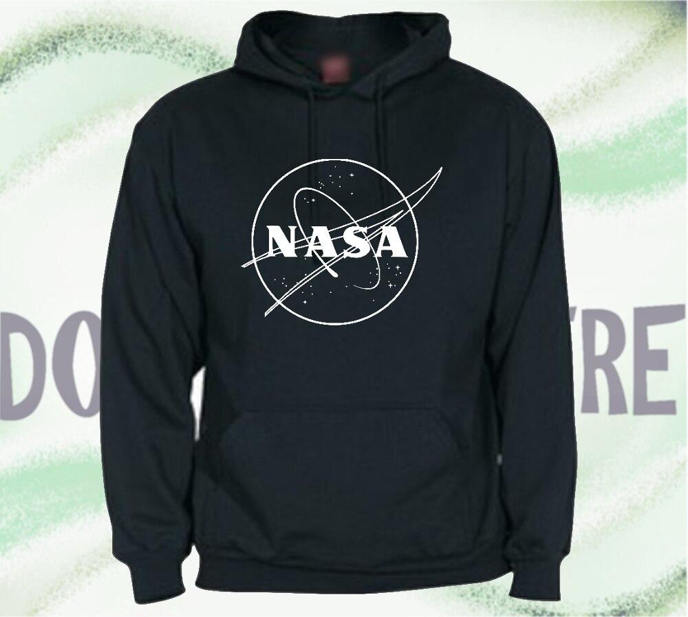 Sweatshirt with Hood type NASA LOGO VINTAGE man woman CHILD