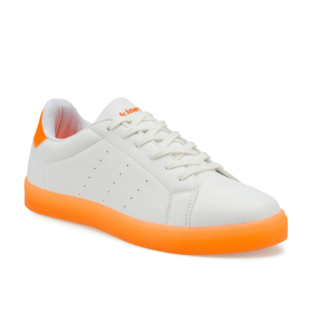 FLO HARVEY White Male Sneaker KINETIX