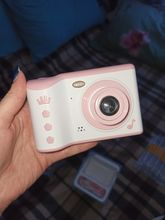 Nice camera. The child has a birthday after 1,5 months, ordered in advance, so that he man