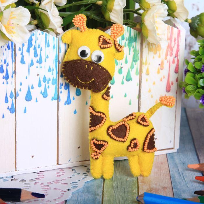 2391200 Set For Making Toys Of Felt 'жираф'